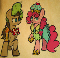 Silly Ponies in Silly Outfits by Pinkie-Pielock