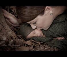 Deep in The Woods She Sleeps by Teeslpscreations