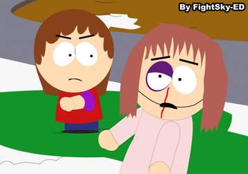 Chloe vs Shelly (Remake) by fightsky-ed