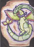 my pokemon flygon by OXxDarkStarxXO