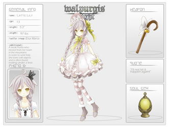 WPN: Latte Lily by Merollet