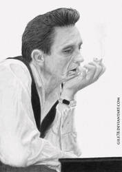 :: Johnny Cash :: by gile78