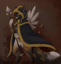 Desert Warrior by gIassmoth