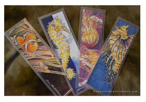 Memories of the Sea - bookmarks by DawnstarW