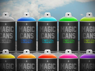 Colorfull Cans by Ransie3
