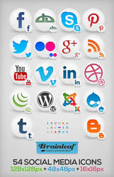 Free Social Media Icons by Ransie3