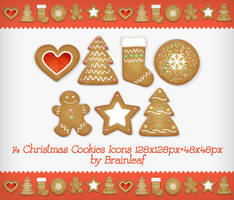 Christmas Cookies Icons by Ransie3