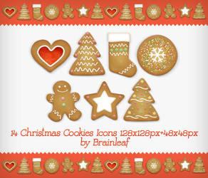 Christmas Cookies Icons by Ransie3