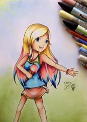 Summery Spirits! by JO-arts