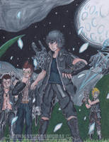Brotherhood | Final Fantasy XV Fanart by GenmaTheSamurai