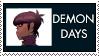 Demon Days Murdoc Stamp by Spade6179