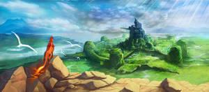 Final Fantasy 7 - Ending Scene by UMTA