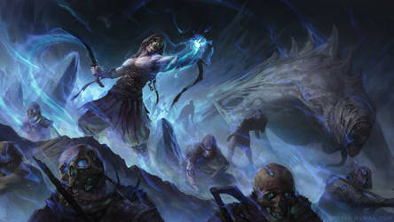 Norse Necromancer by UMTA