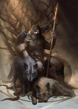 Odin The Allfather by UMTA