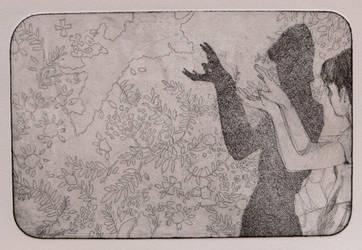 Shadow Etching I by sporkychan