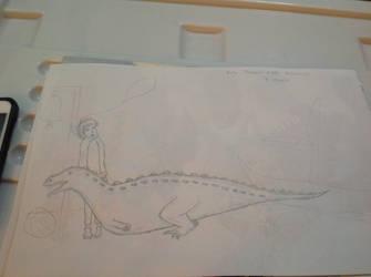 Daily Dinosaur #154 - Betasuchus, B Crocodile by Atlantis536