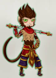 Wukong by shathyd3