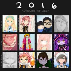 2016 Summary of Art by shathyd3