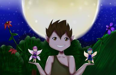 Puck - Midsummer Night's Dream by shathyd3