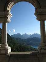 View from castle Neuschwanstein by DelphineHaniel