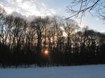 Winter Sunset by DelphineHaniel