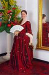 Lady in red by DelphineHaniel