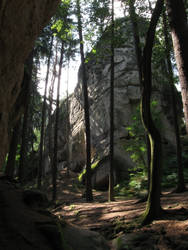 Bohemian Paradise Dragon's rocks by DelphineHaniel