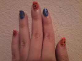 Portal Nails by Sharlotta22