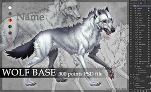 Wolf base PSD by Alaiaorax