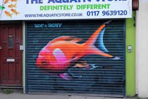 North Street Fish. Bristol by Boe-art