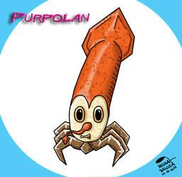 Fakemon PURPOLAN by Heisenking
