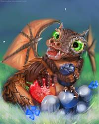 Fan-Art  Warcraft :   Wrathion by Dan-zodiac