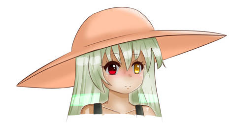 Sunhat Girl by Cold-Mittens