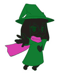 Ralsei scrapped by Cold-Mittens