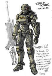 Starship troopers invasion Trig by RyuKomagora8
