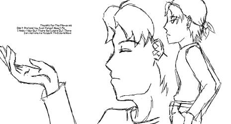 Random Guy and Text by Aisuryuu
