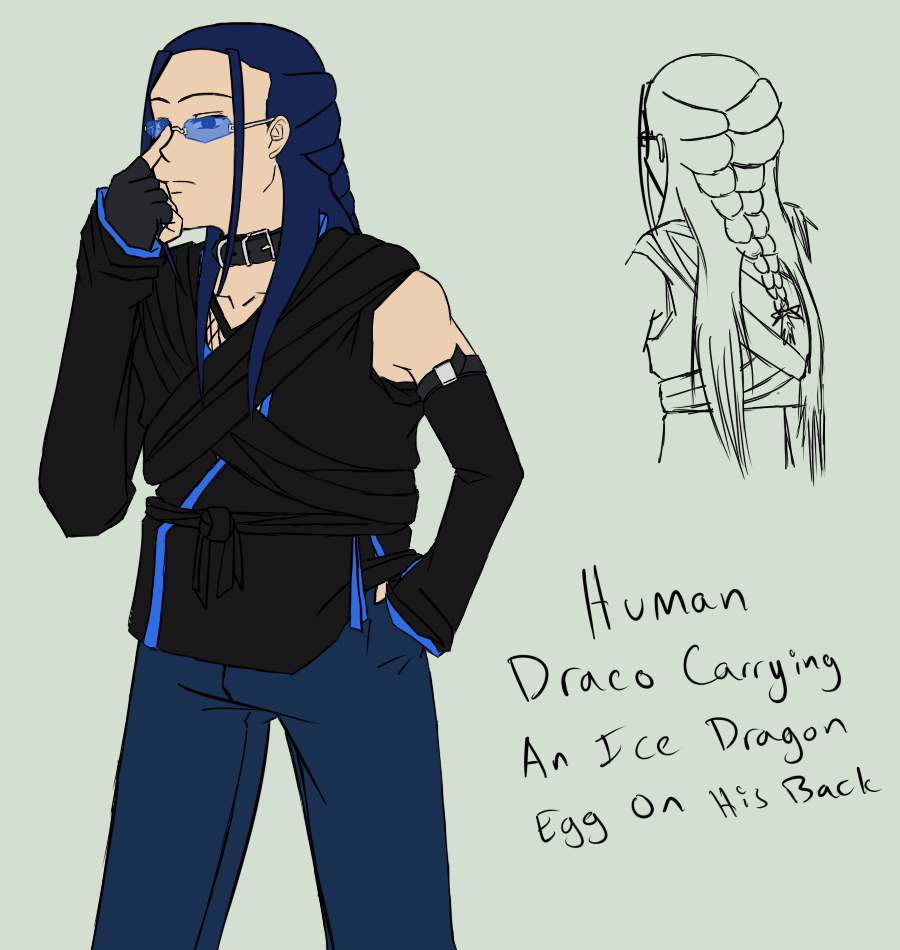 Human Draco - colour by Aisuryuu