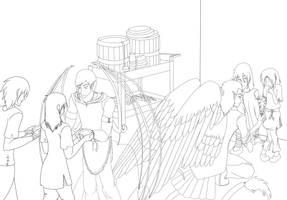 AoH - Azupride lineart by Aisuryuu