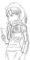 Bak Cosplay Doodle by Aisuryuu
