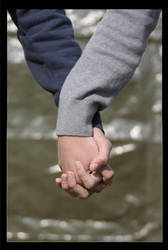 Holding hands by fgn