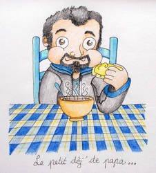 Daddy+breakfast by junoide