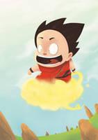 Son Goku2 by mathiole