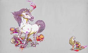 Beware of the unicorns by mathiole