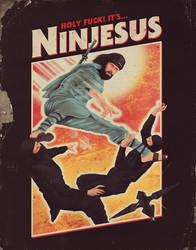 Ninjesus by mathiole