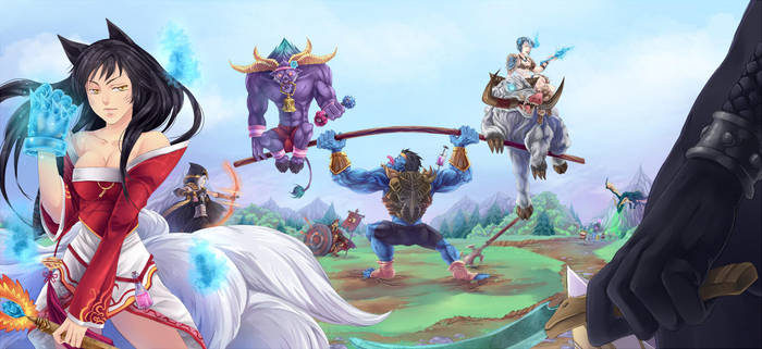 League of legend S3 by ChiNoMiko