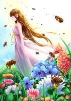 honeybee by ChiNoMiko