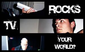 Tv Rocks by electric-pervert