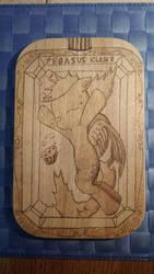 Derpy in a Bottle Woodboard by XTorbenX
