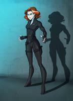 Black Widow by Nina-Serena