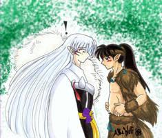 For Ryo-Chan-Wolfgirl MPREG by TheMadWoman-Ellie